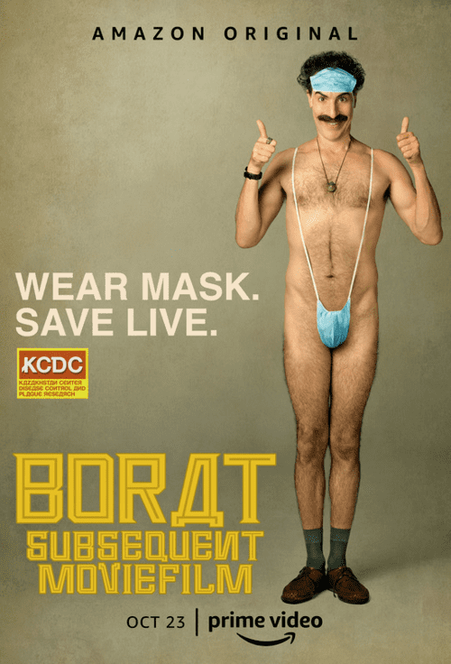 Borat Subsequent Moviefilm (2020) x265 Ultra HD 2160p