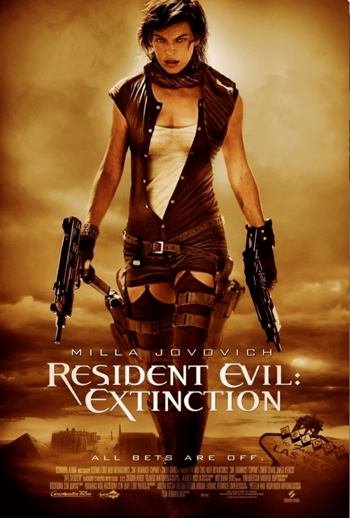 Resident Evil Extinction 4K 2007 Ultra HD 2160p